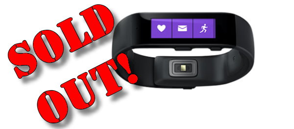 Microsoft Band Sells Out