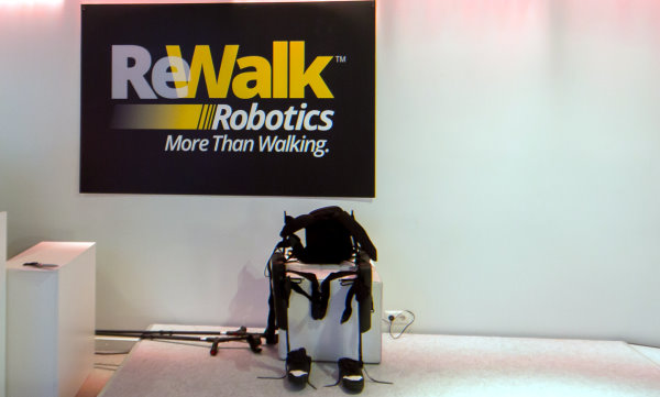 CES 2015: The ReWalk Exoskeleton in Person