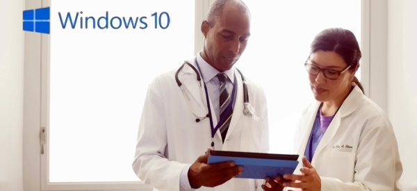 Microsoft Touts Windows 10 for Healthcare