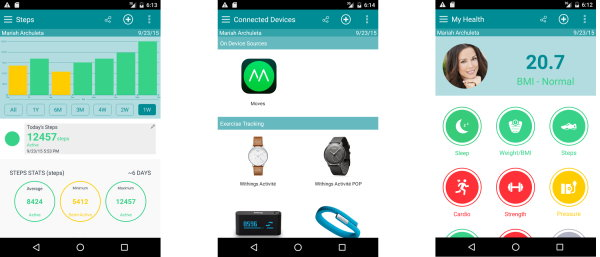 MyCarolinas Tracker Integrates All Major Wearable Health Devices