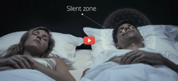 Cone of Silence for Snoring Partners [video]