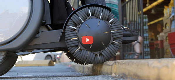 New Wheelchair Design Increases Mobility [video]