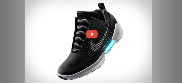 Self-Tying Shoes from Nike [video]