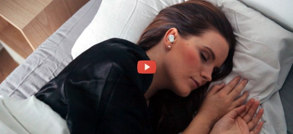 Noise-Cancelling Earplugs Are Wireless [video]