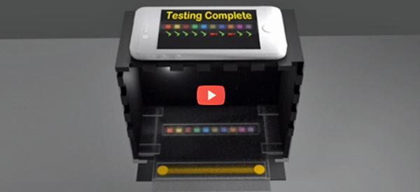 Home urine test scanner [video]
