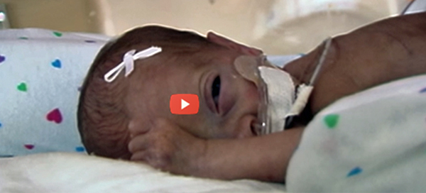 Mother's Voice and Heartbeat Play to Premature Babies [video]