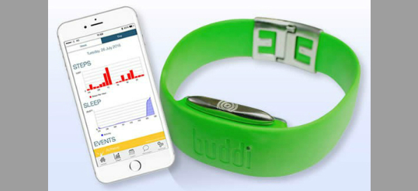 Buddi Diabetes Wearable  600x275