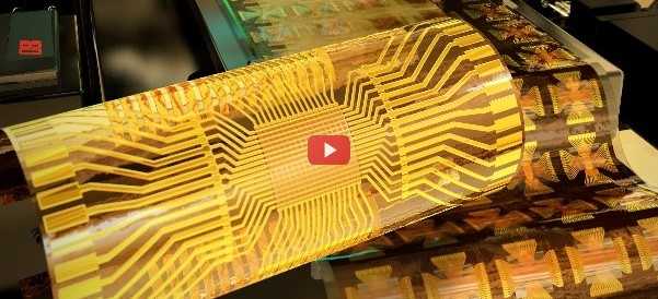 Flexible ICs Using Roll-to-Roll Fabrication [video]