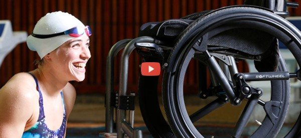 New Wheelchair Hub Eases the Bumps