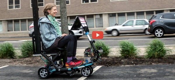 Autonomous Driving Comes to Scooters [video]