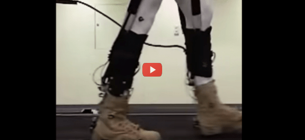 Stretchy Robotic Suit Addresses Exosuit Energy Issues [video]