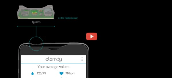 Smartphone Measures Blood Pressure with Light [video]