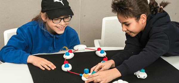 Physical Programming Language for Visually Impaired Kids