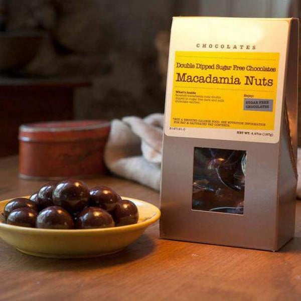 Sugar Free Double-Dipped Macadamias