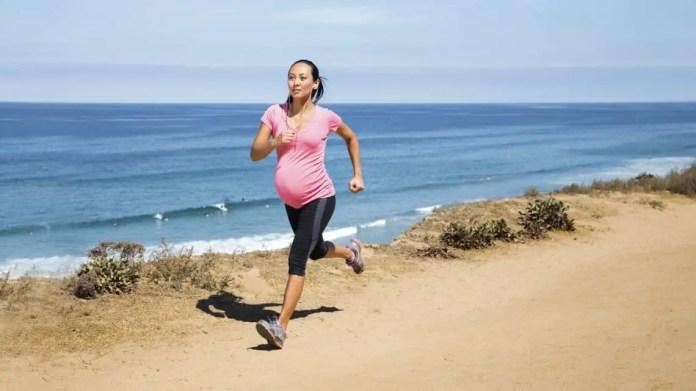 Running pregnancy