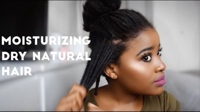 Simples Ways to moisturize your Dry Natural Hair » Health Tips