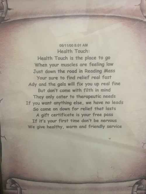 Health Touch Rhyme