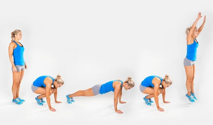 how to do burpee
