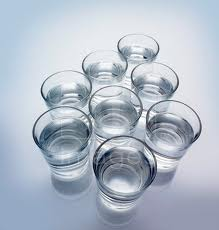 glasses of water Ayurvedic Beauty Tips For Oily Skin
