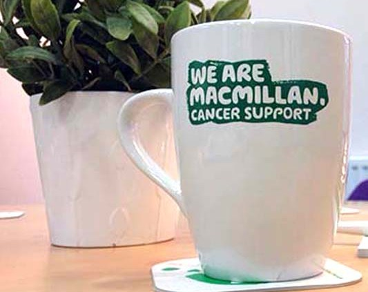 Macmillan cancer support mug