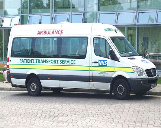 Patient Transport Ambulance