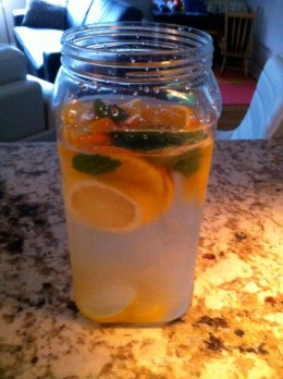 Citrus Water.