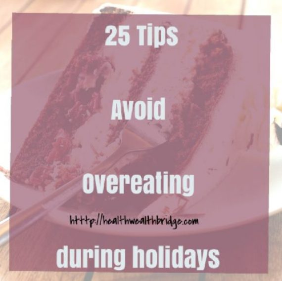 Avoid overeating during holidays