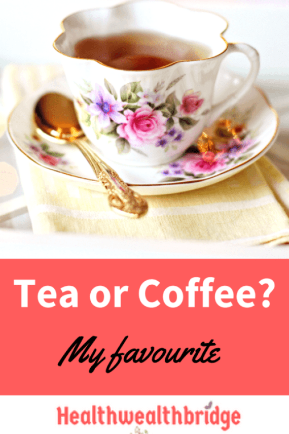 Tea or coffee :What is your favourite?