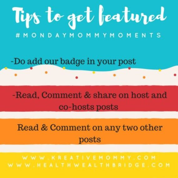 Link party rules for getting featured!Don't forget to read this .