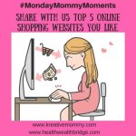 MondayMommyMoments January2017 week 4:Favourite online shops