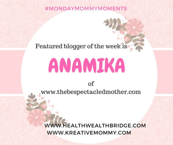 #Monday Mommy Moments week 5 February 2017