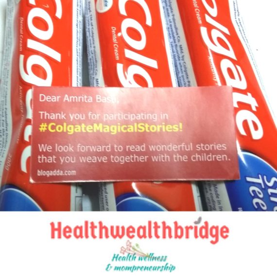 COLGATE MAGICAL STORIES space adventure packs:Already opened