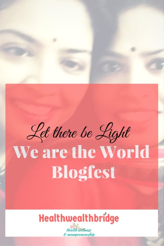 We are the world Blogfest #WATWB