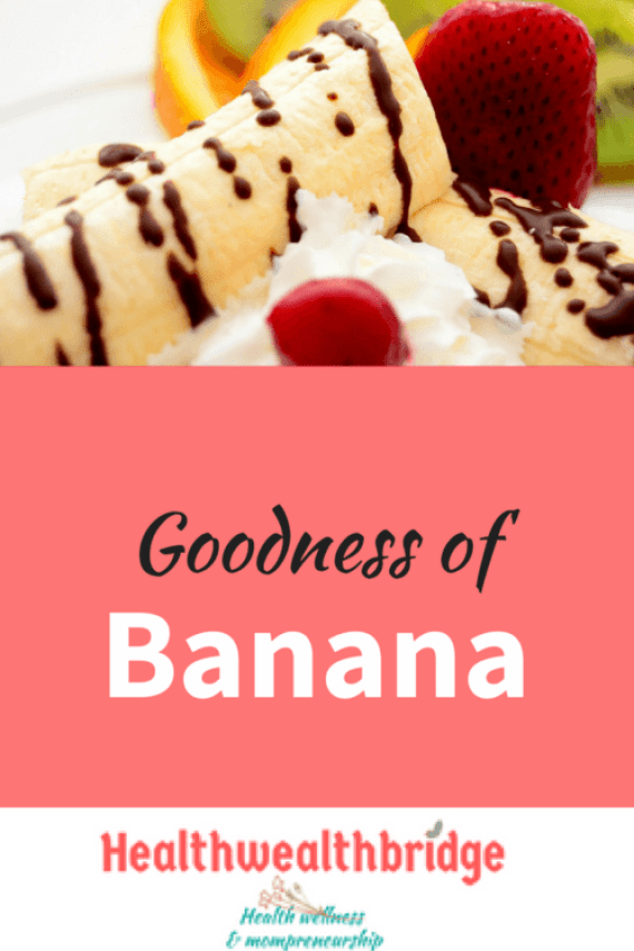 Banana :Delicious desert and savoury dishes whatever yoiu make its guaranteed to be delicious