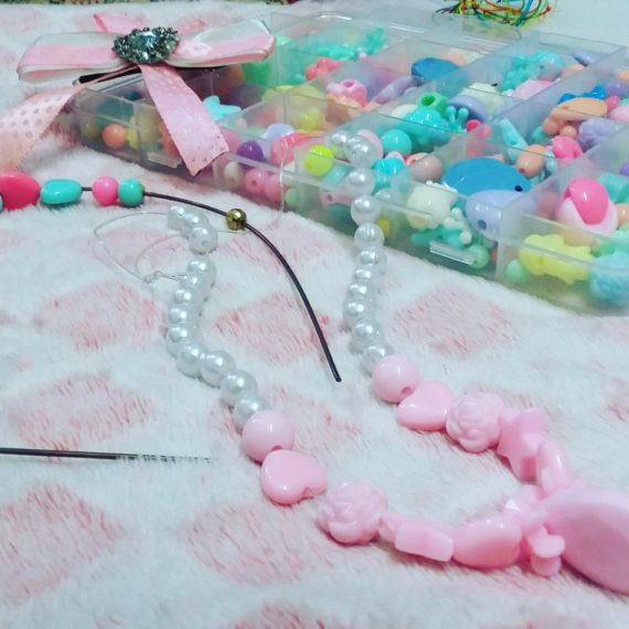 DIY Craft kit for making hair clips ,necklace, hairbands