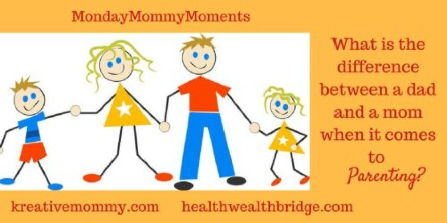 MondayMommyMoments:Parenting together