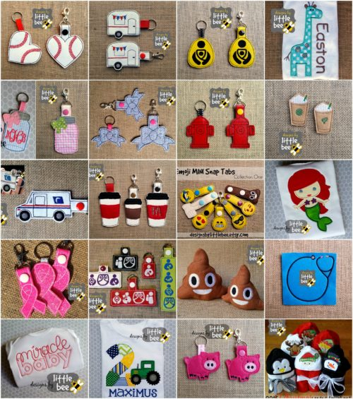 Best designs graphic:Designs by Little Bee