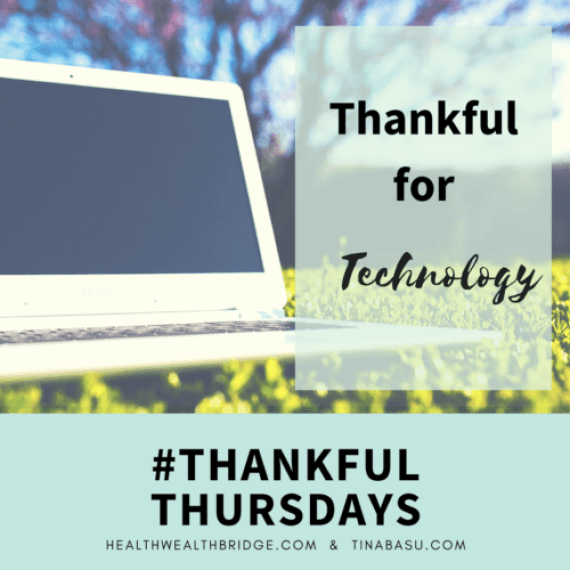 Thankful for Technology#ThankfulThursdays