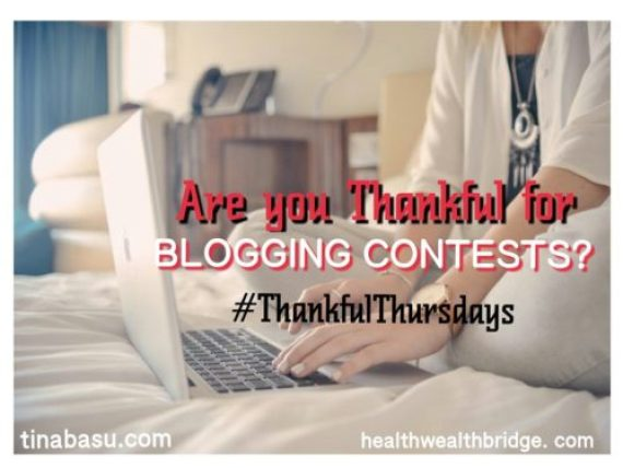 Thankful for Blogging Contest