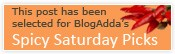 Spicy Saturdays :Blogadda