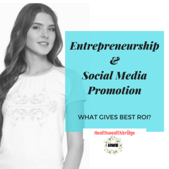 Entrepreneurship & Social Media Promotion:What gives best ROI