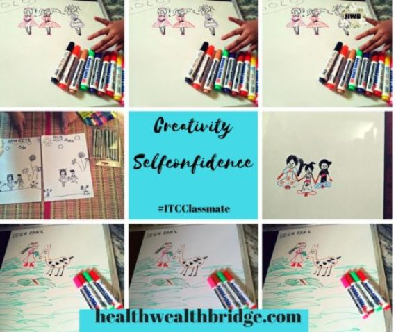 Creativity and Self confidence with ITC Classmate
