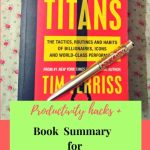 Tools of Titans by Tim Ferris:Book Summary  Blogging Moms Can't Miss #MondayMommyMoments