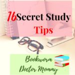 Monday Mommy Moments 56:16 Secret Study tips from a Bokkworm Doctor mommy