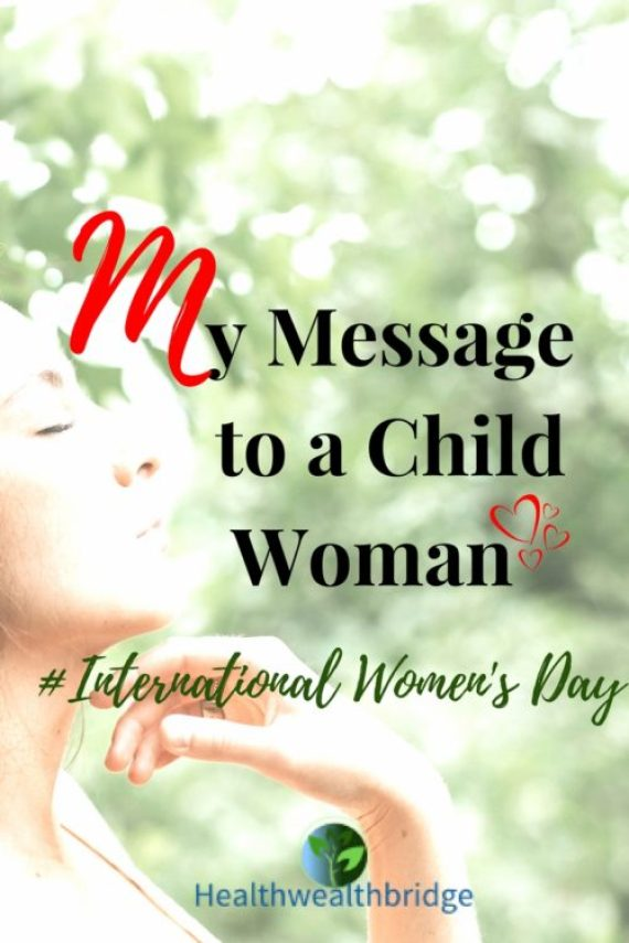 Message to childwomanBe strong ,the world depends on you  #MMM58