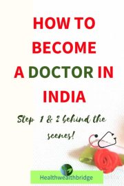 How to become a Doctor in India?(Step 1 and 2)