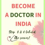 How to become a doctor in India 5 and 6