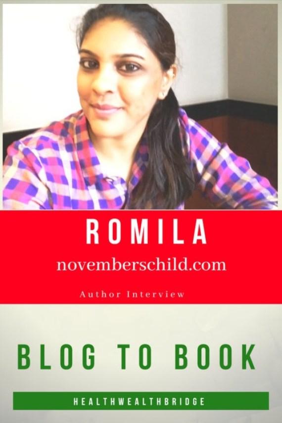 Author Interview :Romila of novemberschild.com