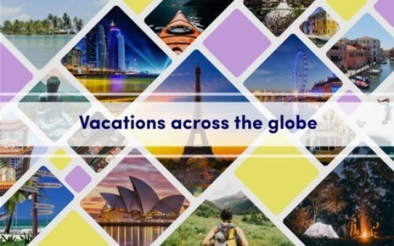 Vacations across the Globe:Destination Collage