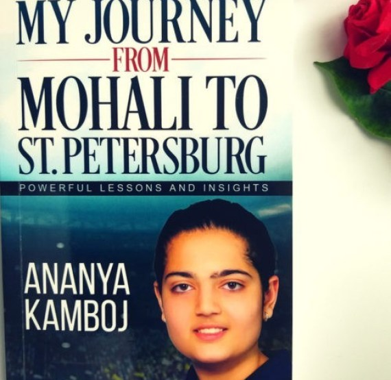 My Journey from Mohali to St.Petersburg ;Book Review